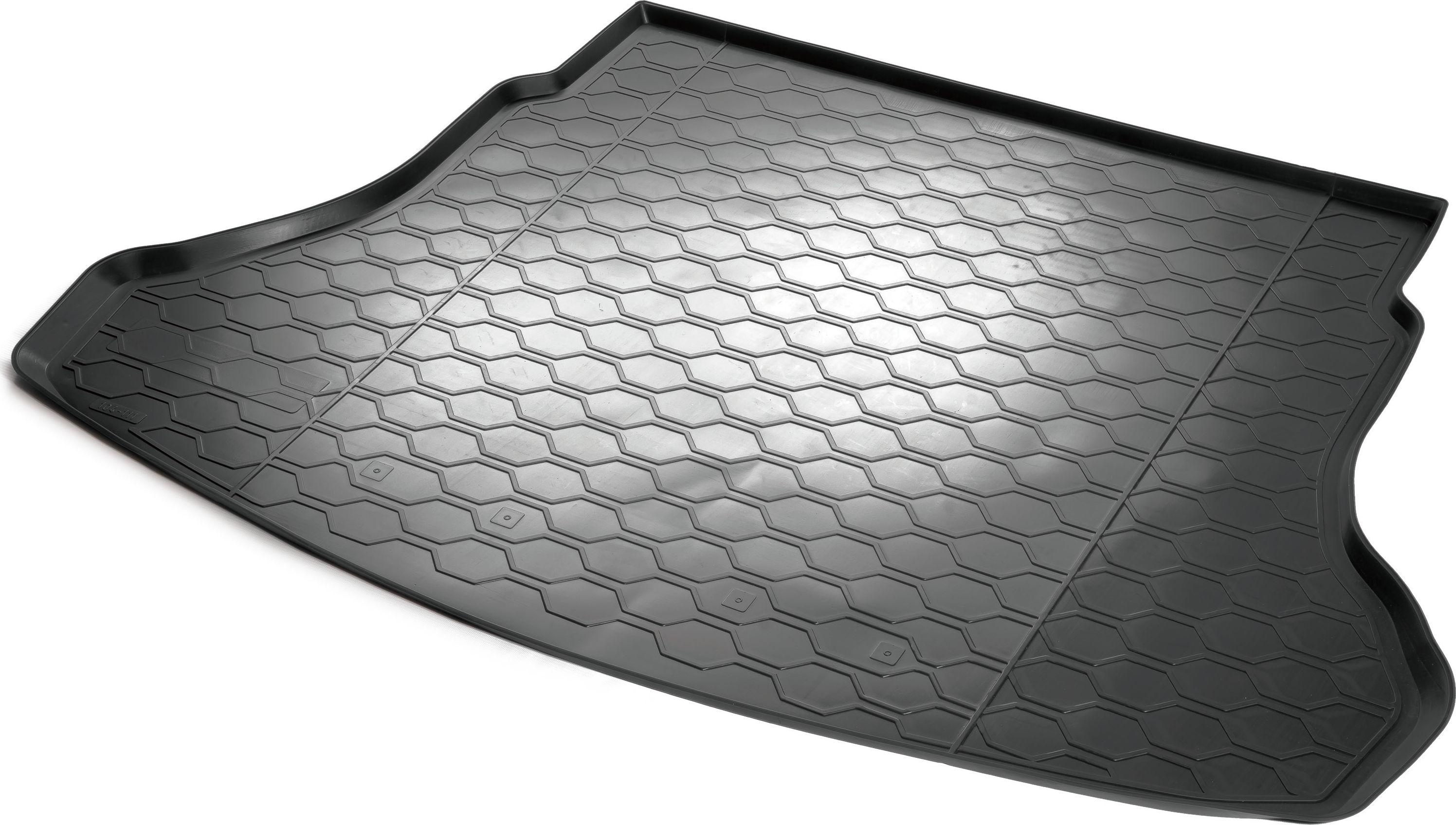 Коврик багажника Rival для Hyundai Solaris (SD) 2017-/Kia Rio 2017-, полиуретан21395598Коврик багажника Rival позволяет надежно защитить и сохранить от грязи багажный отсек вашего автомобиля на протяжении всего срока эксплуатации, полностью повторяют геометрию багажника.- Высокий борт специальной конструкции препятствует попаданию разлившейся жидкости и грязи на внутреннюю отделку.- Произведены из первичных материалов, в результате чего отсутствует неприятный запах в салоне автомобиля.- Рисунок обеспечивает противоскользящую поверхность, благодаря которой перевозимые предметы не перекатываются в багажном отделении, а остаются на своих местах.- Высокая эластичность, можно беспрепятственно эксплуатировать при температуре от -45 ?C до +45 ?C.- Изготовлены из высококачественного и экологичного материала, не подверженного воздействию кислот, щелочей и нефтепродуктов. Уважаемые клиенты!Обращаем ваше внимание,что коврик имеет формусоответствующую модели данного автомобиля. Фото служит для визуального восприятия товара.