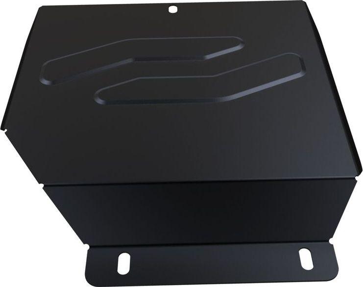 Защита редуктора Автоброня, для Honda Pilot 2012-, сталь 1,8 мм, комплект крепежаCA-3505Защита редуктора Автоброня Honda Pilot, V - 3,5 2012-, сталь 1,8 мм, комплект крепежа, 111.02123.1Стальные защиты двигателя и других элементов Автоброня Надежно защищают Ваш автомобиль от повреждений при наезде на бордюры, выступающие канализационные люки, кромки поврежденного асфальта или при ремонте дорог, не говоря уже о загородных дорогах. - Имеют оптимальное соотношение цена-качество. - Спроектированы с учетом особенностей автомобиля, что делает установку удобной. - Защита устанавливается в штатные места кузова автомобиля. - Является надежной защитой для важных элементов на протяжении долгих лет. - Глубокий штамп дополнительно усиливает конструкцию защиты. - Подштамповка в местах крепления защищает крепеж от срезания. - Технологические отверстия там, где они необходимы для смены масла и слива воды, оборудованные заглушками, надежно закрепленными на защите. Толщина стали: 2 мм. В комплекте набор крепежа и инструкция по установке. Уважемые клиенты! Обращаем ваше внимание, на тот факт, что защита имеет форму, соответствующую модели данного автомобиля. Наличие глубокого штампа и лючков для смены фильтров/масла предусмотрено не на всех защитах. Фото служит для визуального восприятия товара.