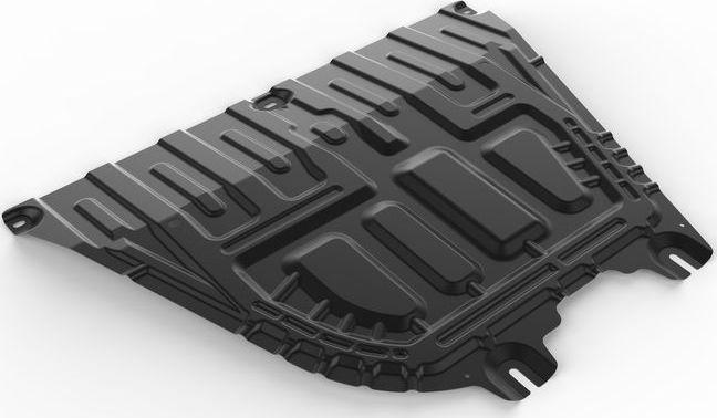 Защита картера и КПП Автоброня Hyundai Solaris 2017-/Kia Rio 2017-, сталь 2 мм1004900000360Защита картера и КПП Автоброня Hyundai Solaris, V - 1,6; АКПП 2017-/Kia Rio 2017-, V - 1.6; МКПП, сталь 2 мм, комплект крепежа, 111.02370.1Стальная защита Автоброня надежно защитит ваш автомобиль от повреждений при наезде на бордюры, выступающие канализационные люки, кромки поврежденного асфальта или при ремонте дорог, не говоря уже о загородных дорогах. - Имеет оптимальное соотношение цена-качество. - Спроектирована с учетом особенностей автомобиля, что делает установку удобной. - Защита устанавливается в штатные места кузова автомобиля. - Является надежной защитой для важных элементов на протяжении долгих лет. - Глубокий штамп дополнительно усиливает конструкцию защиты. - Подштамповка в местах крепления защищает крепеж от срезания. Толщина стали 2 мм. В комплекте крепеж и инструкция по установке. Уважаемые клиенты! Обращаем ваше внимание, на тот факт, что защита имеет форму, соответствующую модели данного автомобиля. Наличие глубокого штампа и лючков для смены фильтров/масла предусмотрено не на всех защитах. Фото служит для визуального восприятия товара.