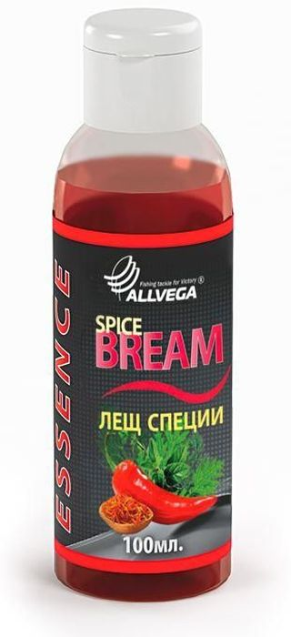 Ароматизатор-концентрат жидкий для рыбалки ALLVEGA Essence Spice Bream, лещ, специи, 100 мл0057664Имеет специфический запах, который привлекает капризного леща в сложных условиях.