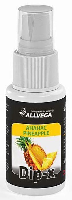 Ароматизатор-спрей Allvega Dip-X Pineapple, 50 млMABLSEH10001Высококонцентрированный ароматизатор-спрей Allvega Dip-X Redworm предназначен для быстрой ароматизации различных наживок и приманок, в том числе искусственных. Обладает запахом ананаса. Товар сертифицирован.Объем 50 мл.