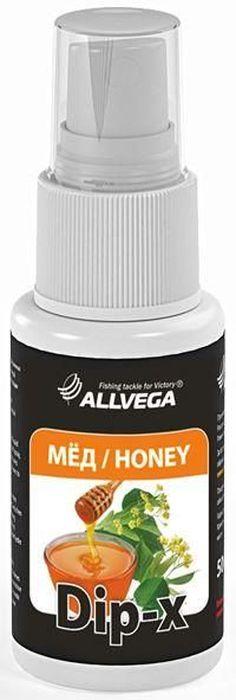 Ароматизатор-спрей Allvega Dip-X Honey, 50 мл0057670Высококонцентрированный ароматизатор-спрей Allvega Dip-X Honey предназначен для быстрой ароматизации различных наживок и приманок, в том числе искусственных. Обладает медовым ароматом. Товар сертифицирован.Объем 50 мл.