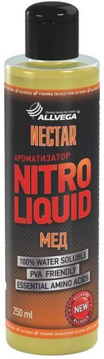 Ароматизатор жидкий Allvega Nitro Liquid. Nectar, 250 млRivaCase 8460 aquamarineЖидкий ароматизатор Allvega Nitro Liquid. Nectar с выраженным медовым ароматом - отличная универсальная добавка для ловли различных карповых рыб. Применяется для ароматизации рыболовных прикормок и насадок. При добавлении в смесь значительно повышает ее привлекательность для рыбы. Товар сертифицирован.Объем: 250 мл.