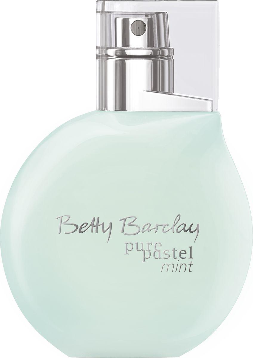 Betty Barclay Pure Pastel Mint Туалетная вода 50 мл9Новинка Pure Pastel Mint - это удивительный парфюм, в котором умело сочетаются теплые и прохладные ноты, в нем есть нежность и дерзость, уютная мягкость и жгучая страсть. Композиция открывается нотами юзу, пикантной пряностью черной смородины и деликатной пряностью розового перца. В сердце распускается потрясающая чайная роза в окружении цикламена и иланг-иланга. Теплый изменчивый шлейф строится на аккордах сандалового дерева и завораживающей чувственности мускуса.