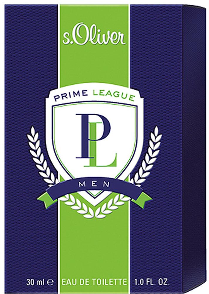 S.oliver Prime League Men Туалетная вода 30 мл9Аромат s.Oliver PRIME LEAGUE воплощает идеальное сочетание спортивной энергии и классической элегантности, подчеркивающий командный дух, целеустремленность, и радость