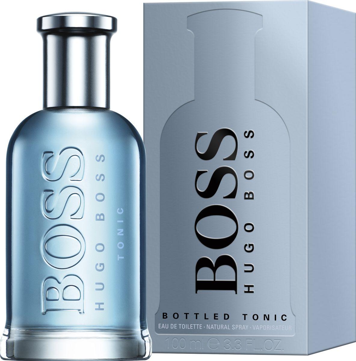 Hugo Boss Bottled Tonic Туалетная вода 100 мл1301210Легкий освежающий аромат Boss Bottled Tonic, выпущенный в 2017 году модным Домом Hugo Boss, идеально впишется в атмосферу «офисных» будней. Парфюм адресуется мужчинам, которым необходимо сохранять элегантный и свежий вид в течение всего рабочего дня. Приятный, располагающий облик в большинстве случаев помогает достигнуть успеха в делах, а хороший личный аромат закрепляет благоприятное впечатление. Свежий посыл ноток цитрусов и хрустящего яблока, почти невесомый, деликатно окружает кожу мягким сиянием. Пламенно чувственные акценты имбиря не обжигают, а тихо тлеют под пудровой вуалью корицы. Сухое древесное основание выравнивает баланс и придает элегантность композиции благодаря изысканным ноткам ветивера