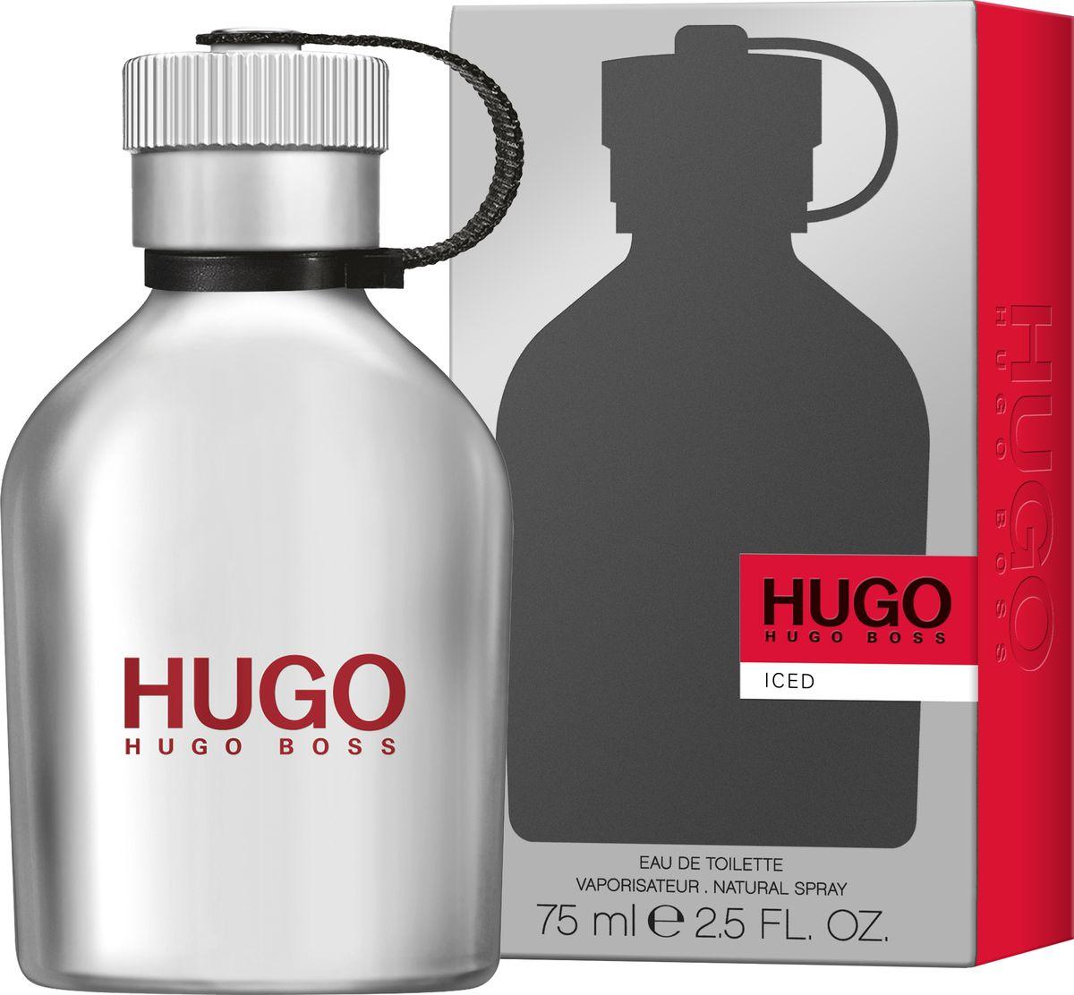 Hugo Boss Hugo Iced Туалетная вода 75 мл1092018Hugo Iced – новый аромат, заряжающий энергией. Для тех, кто не боится следовать за своей мечтой. Он идеально передает смелый и дерзкий характер HUGO, а металлический леденящий флакон в форме фляги отражает бодрящие и свежие нотки композиции. Верхняя нота ледяной мяты пробуждает и дарит энергию на весь день. В сердце аромата звучат придающие уверенность ноты чайного дерева в сочетании с можжевельником и горьким апельсином. Ветивер в базовых нотах делает аромат мужественным и насыщенным, наполняет решительностью и поднимает настроение.