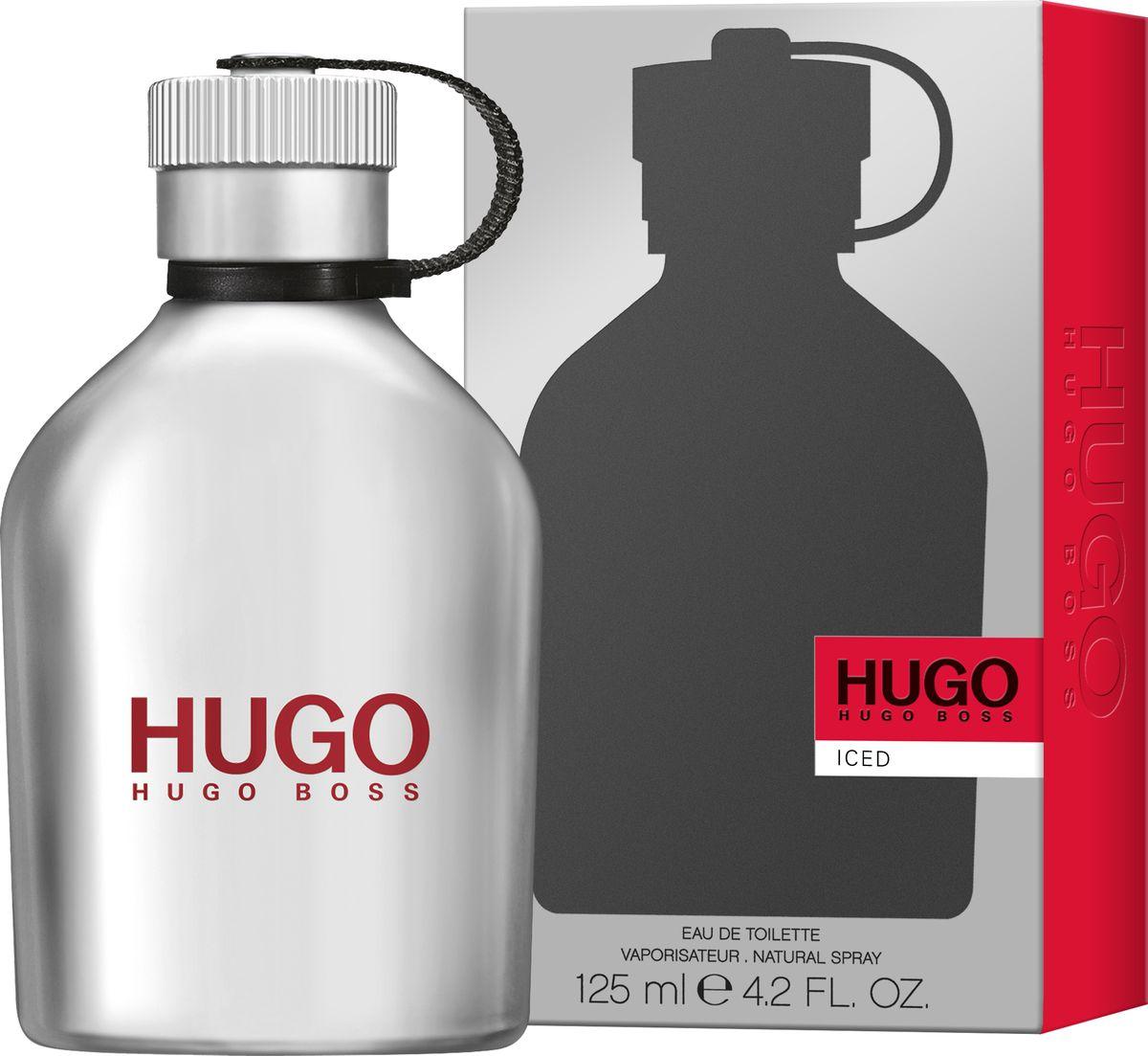 Hugo Boss Hugo Iced Туалетная вода 125 мл1092018Hugo Iced – новый аромат, заряжающий энергией. Для тех, кто не боится следовать за своей мечтой. Он идеально передает смелый и дерзкий характер HUGO, а металлический леденящий флакон в форме фляги отражает бодрящие и свежие нотки композиции. Верхняя нота ледяной мяты пробуждает и дарит энергию на весь день. В сердце аромата звучат придающие уверенность ноты чайного дерева в сочетании с можжевельником и горьким апельсином. Ветивер в базовых нотах делает аромат мужественным и насыщенным, наполняет решительностью и поднимает настроение.