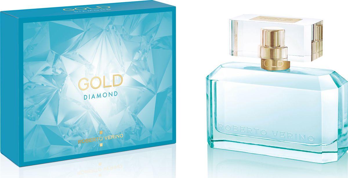 Roberto Verino Gold Diamond Парфюмерная вода 30 мл14183Новый аромат представлен в формате вечерние духи, которые раскрывают образ элегантной, изысканной и утонченной молодой женщины.