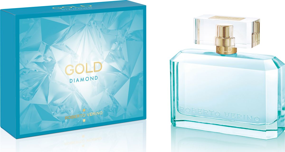 Roberto Verino Gold Diamond Парфюмерная вода 50 мл28032022Новый аромат представлен в формате вечерние духи, которые раскрывают образ элегантной, изысканной и утонченной молодой женщины.