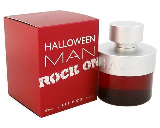 Halloween Man Rock On Туалетная вода 50 мл28032022Новая версия Halloween MAN выполнена в насыщенно красном и матовом алюминиевом цветах.