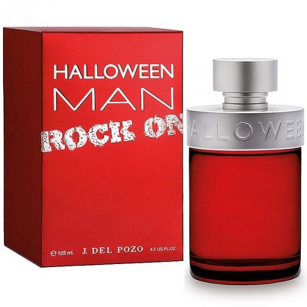 Halloween Man Rock On Туалетная вода 125 мл50251Новая версия Halloween MAN выполнена в насыщенно красном и матовом алюминиевом цветах.