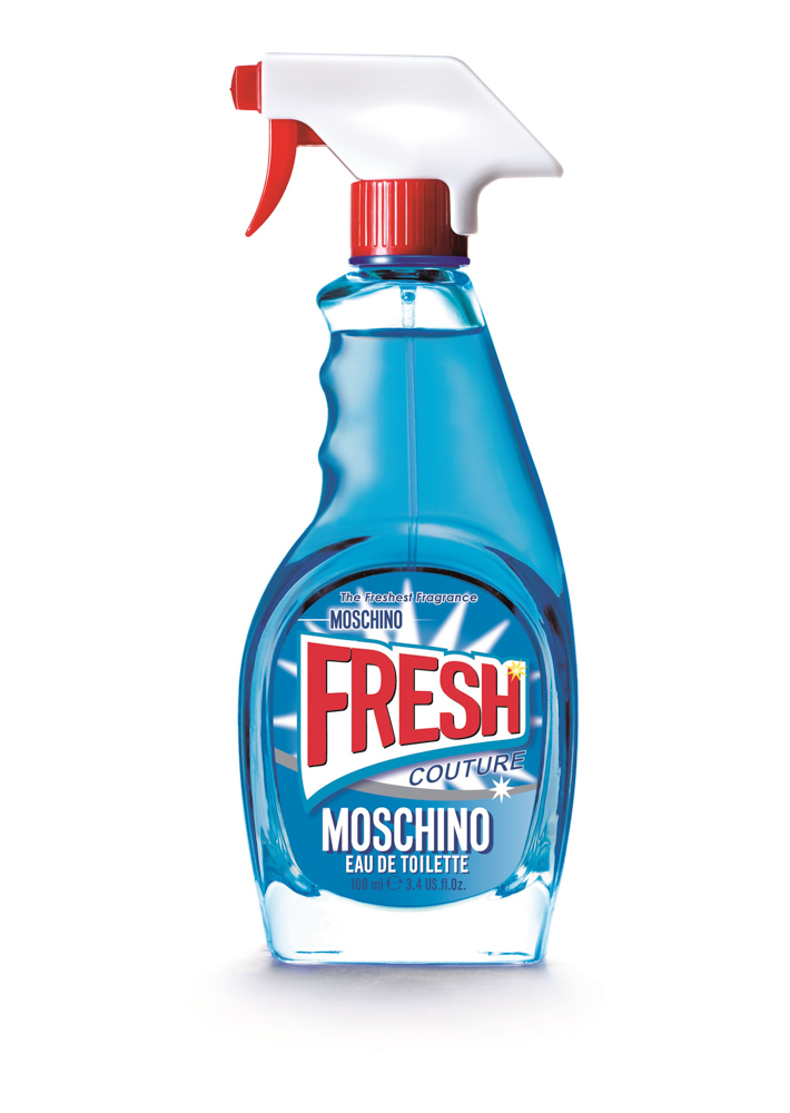 Moschino Fresh Туалетная вода спрей, 100 мл28032022Концепция этого аромата - совместить самое привычное и обыденное, скажем, моющее средство, с чем-то очень элегантным - ароматом роскошного бренда. Идея о том, чтобы использовать банальную бутылку, не представляющую никакой ценности, в качестве флакона для драгоценного содержимого, создает максимальный контраст между повседневным и изысканным. Это и есть настоящий стиль Moschino.
