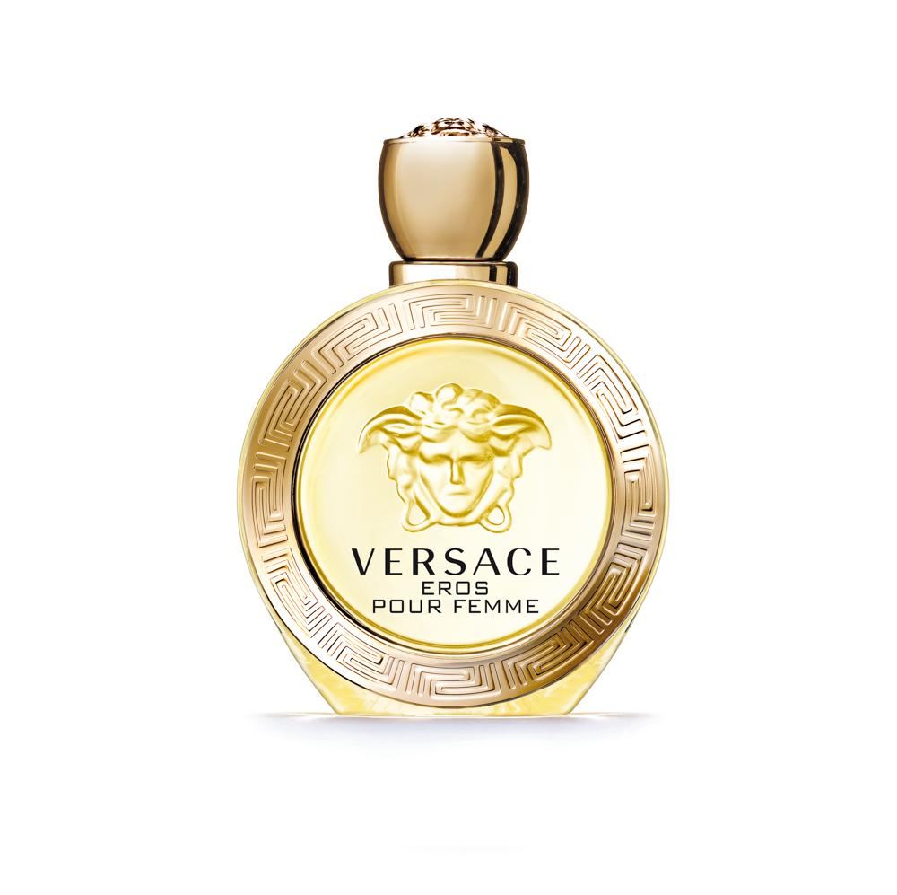 Versace Eros Pour Femme Туалетная вода 100 мл750132Аромат для женщин, которые знают, что такое страсть. Всепобеждающая власть женщины, заключенная в искрящемся и чувственном аромате. Созданный Донателлой Версаче, этот аромат излучает силу, индивидуальность и соблазн. Туалетная вода Versace Eros Pour Femme - это новое измерение свежести, захватывающей и чувственной.