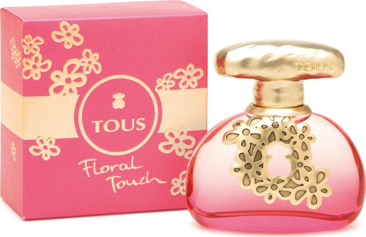 Tous Touch Floral Туалетная вода 30 мл901041TOUS FLORAL TOUCH представляет модель Лорен Аеурбах: кокетливо улыбаясь в камеру, девушка делится секретом своей притягательности: цветочно-фруктовым ароматом TOUS FLORAL TOUCH.