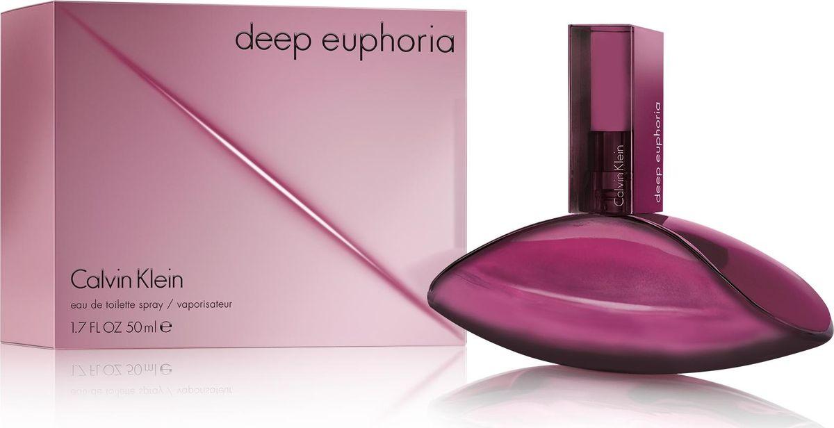 Calvin Klein Euphoria Deep Fresh Туалетная вода 50 млSC-FM20104Первый цветочно-свежий шлейфовый аромат в линейке Euphoria