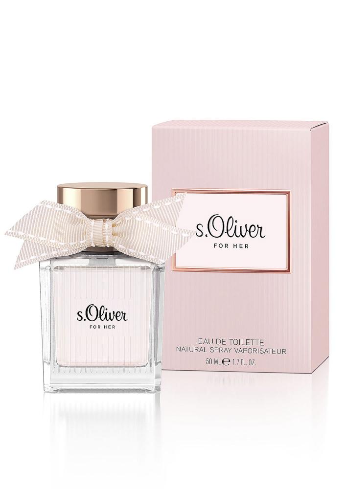 S.oliver For Her Туалетная вода 50мл10Новая линия s.Oliver создана специально для того, чтобы навсегда запечатлеть в памяти самые приятные мгновения. Главный тренд сезона: Образ ROS?-NUDE