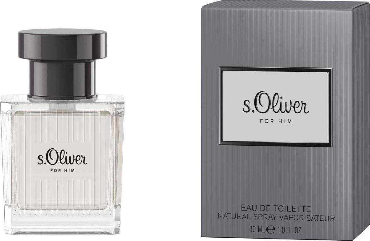 S.oliver For Him Туалетная вода 30мл28032022Новая линия s.Oliver создана специально для того, чтобы навсегда запечатлеть в памяти самые приятные мгновения. Главный тренд сезона: Образ все оттенки серого