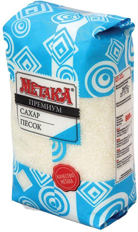 Метака сахарный песок, 800 г0120710Сахарный песок Метака - быстрорастворимый, изготовлен из качественного сырья - сахарной свеклы. Отлично подойдет как ингредиент для приготовления пищи и ежедневного употребления с различными напитками.