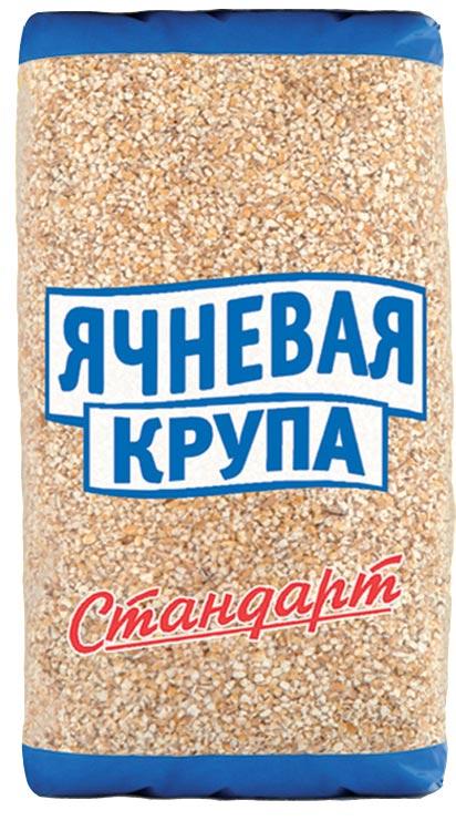 Стандарт крупа ячневая, 700 г665Ячневую крупу, также как и перловую получают из ячменя. Однако в отличие от перловки ячмень не шлифуют, а просто дробят. И самая ценная часть зерна – слой алейрона, полностью сохраняется. В ячменном зерне содержится витамин А, почти все витамины группы В, витамины D, E, PP. В состав ячменя также входит широкий набор микроэлементов. В первую очередь фосфор, который необходим для нормального обмена веществ в организме, а также для полноценной деятельности мозга.