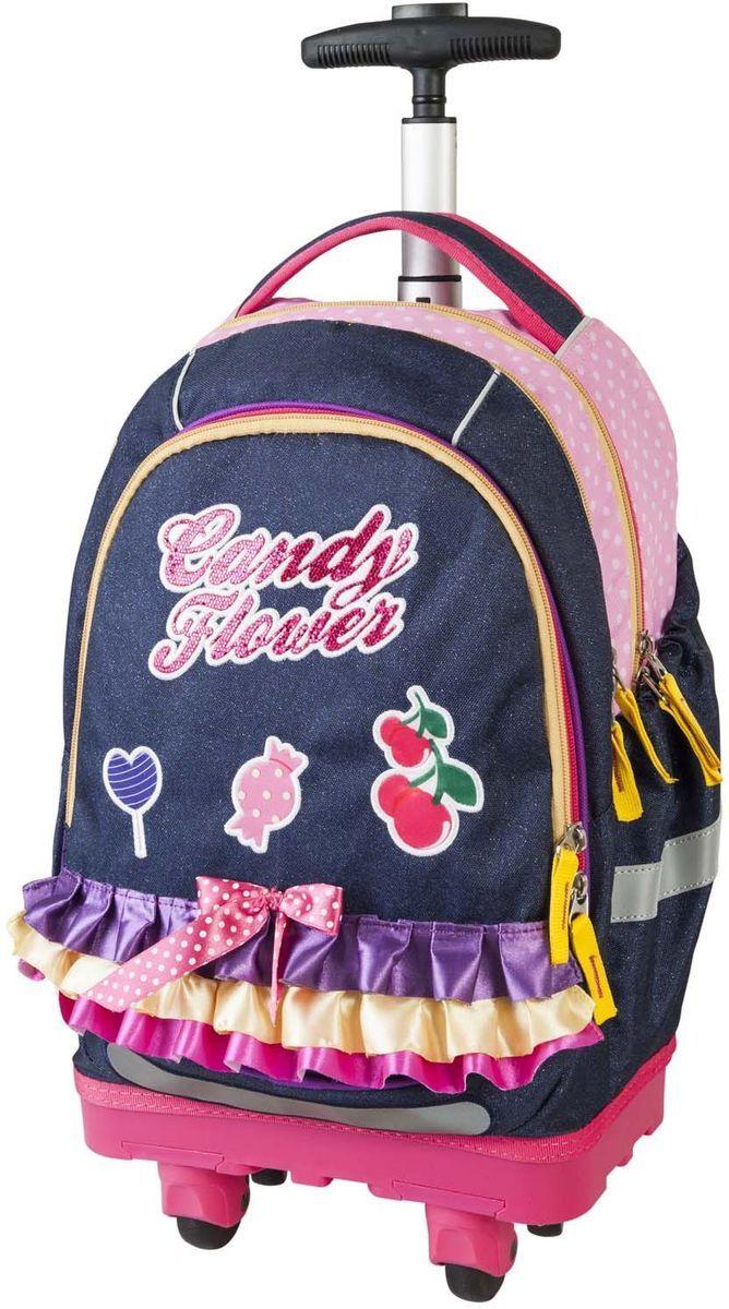 Target Collection Ранец школьный-тележка Сладкие цветы - Чемоданы