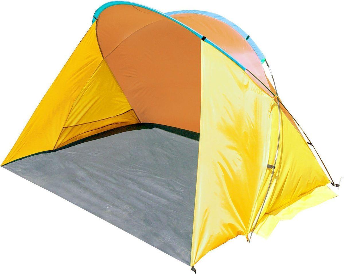 Тент пляжный GoGarden  Monaco Beach , 200 х 150 х 125 см, цвет: желтый, оранжевый - Палатки и тенты
