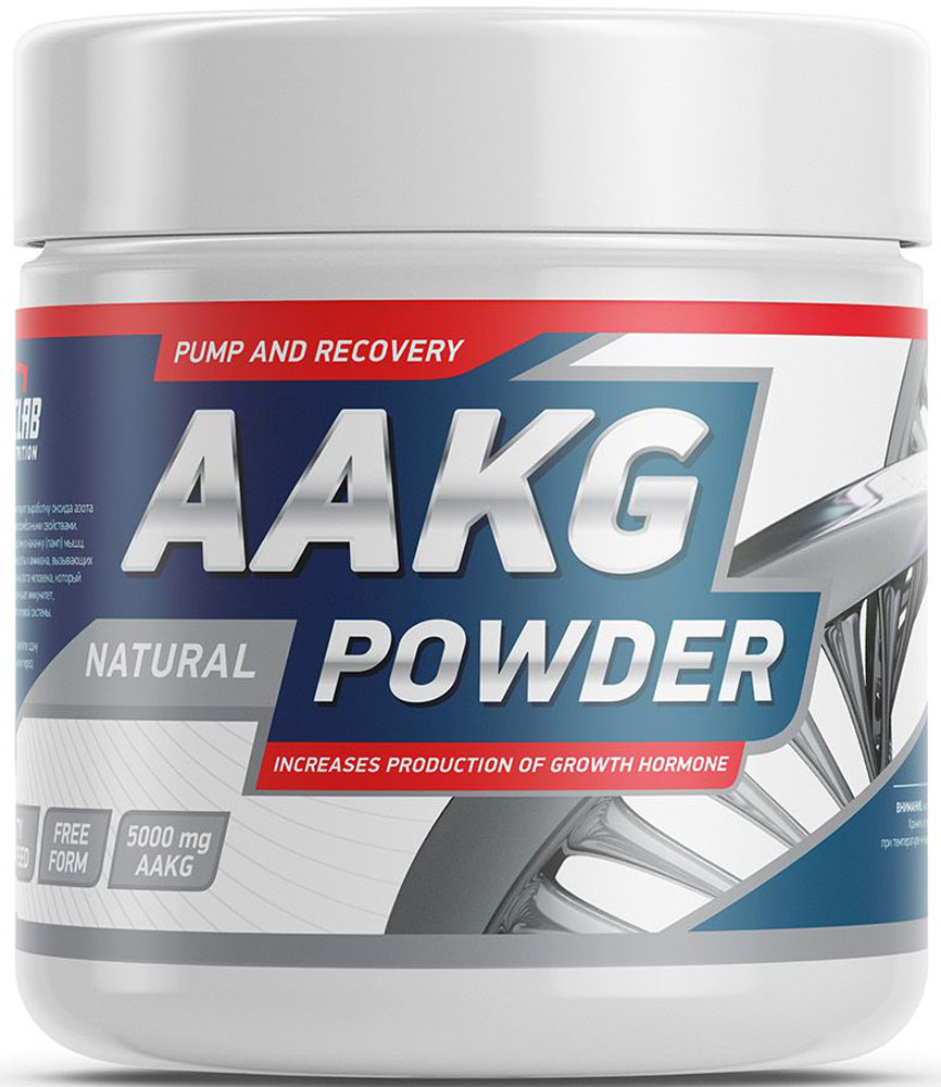 Аргинин Geneticlab  AAKG Powder , без вкуса, 150 г - Аминокислоты