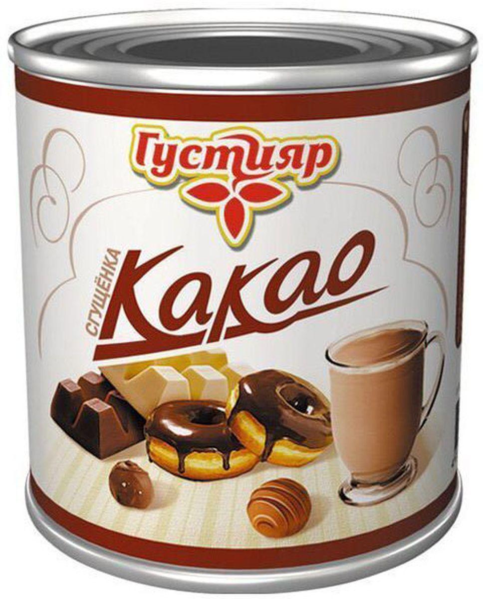 Союзконсервмолоко Густияр молоко сгущенное с какао, 380 г