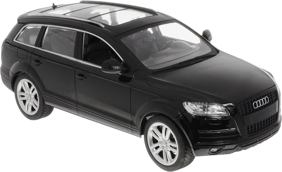 """Радиоуправляемая модель MZ """"Audi 2031"""" - это прекрасно смоделированная копия реального автомобиля, которая отличается хорошей детализацией и качественным видом.Маневренная и реалистичная уменьшенная копия автомобиля выполнена в точной детализации с настоящим автомобилем в масштабе 1/14. Управление машинкой происходит с помощью пульта. Машинка двигается вперед-назад, поворачивает направо-налево. Оснащена световыми эффектами.Колеса игрушки прорезинены и обеспечивают плавный ход, машинка не портит напольное покрытие. Радиоуправляемые игрушки способствуют развитию координации движений, моторики и ловкости.Подарите вашему малышу возможность почувствовать себя настоящим водителем.Машина работает от 5 батареек напряжением 1,5V типа АА (входят в комплект). Зарядка батареек осуществляется посредством зарядного устройства (входит в комплект). Пульт управления работает от батарейки 9V типа """"Крона"""" (входит в комплект)."""