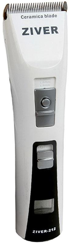 Машинка для стрижки животных Ziver 212, аккумуляторно-сетевая, 15 Вт1401-7600МАШИНКА ДЛЯ СТРИЖКИ СОБАК АККУМУЛЯТОРНО-СЕТЕВАЯ ZIVER-212, 15Вт, LCD-дисплей, Li-Ion аккумулятор без эффекта памяти, 180 мин. Зарядка / 240 мин работа, насадки, керамический нож, встроенный регулятор длины стрижки