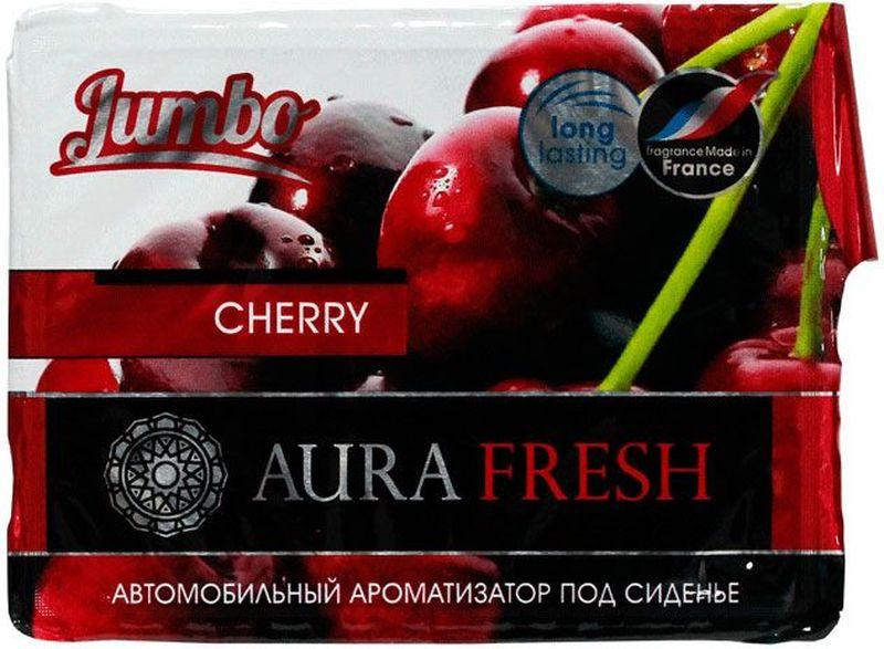 Ароматизатор автомобильный Aura Fresh Jumbo. Cherry, под сиденьеCTK-52431-24Автомобильный ароматизатор Aura Fresh эффективно устраняет неприятныезапахи и придает легкий приятный аромат. Сочетание геля с парфюмами наилучшего качества обеспечивает устойчивый запах. Благодаря удобной конструкции, его можно положить под сиденье.