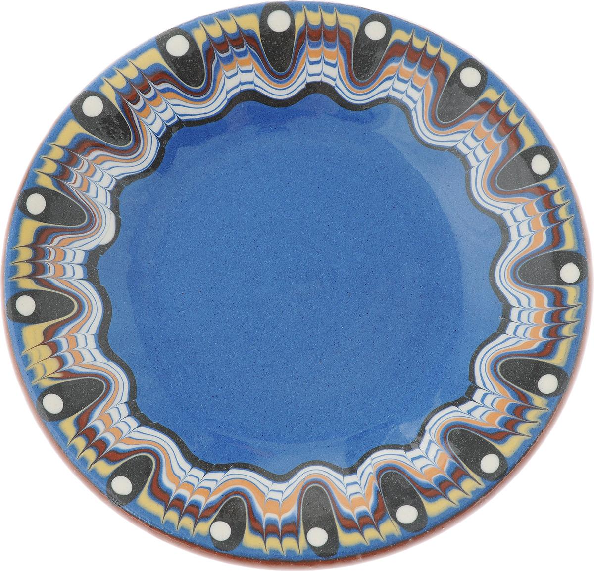 Блюдце Troian ceramics, 12 см115610Блюдце Troian ceramics выполнено из высококачественной керамики. Изделие оформлено узором. Изящное блюдце не только красиво оформит стол к чаепитию, но и станет прекрасным подарком друзьям и близким.Диаметр блюдца: 12 см.Высота блюдца: 1,5 см.