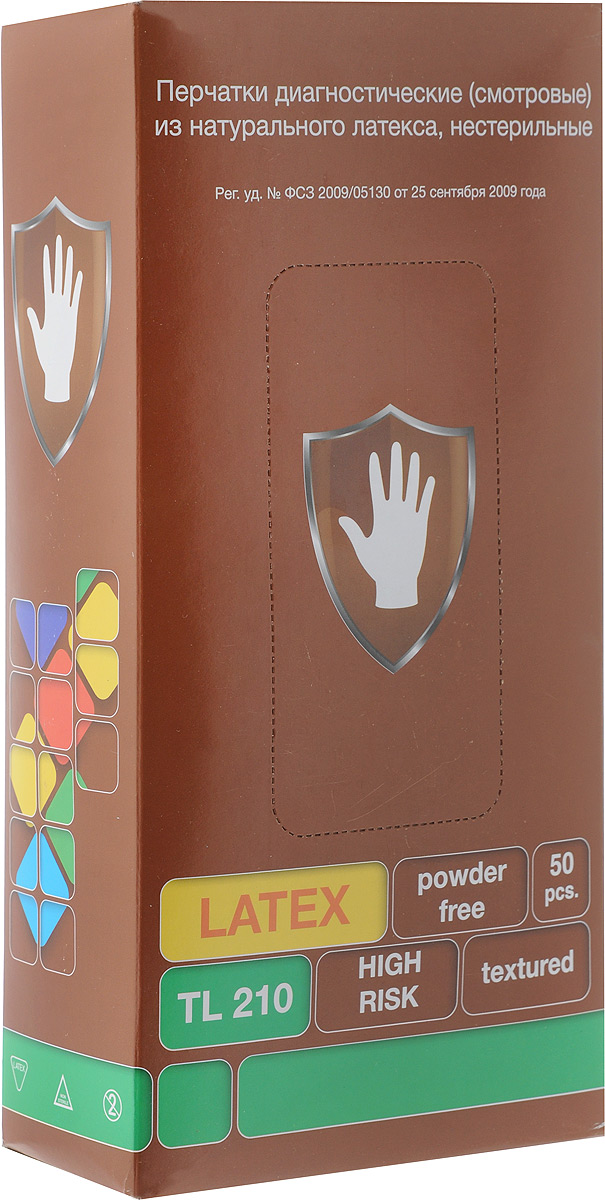 Перчатки латексные ХАЙ РИСК, особопрочные, с удлиненной манжетой, 50 шт. Размер L10684/5C TOONПерчатки ХАЙ РИСК изготовлены из натурального латекса. Подойдут для смотровых (диагностических) работ в медицине. Перчатки имеют удлиненные манжеты.