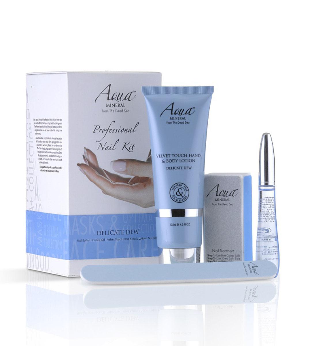 Aqua Mineral Набор для ухода за ногтями Нежная роса, маленькийMFM-3101Впечатляющая комбо-упаковка, включающая в себя все, что требуется для основательного и качественного ухода за ногтями.