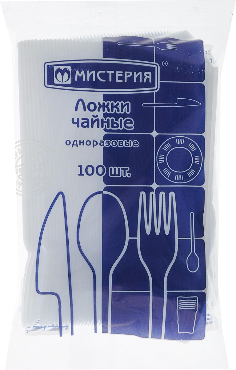 """Набор одноразовых чайных ложек """"Мистерия"""", 100 шт"""