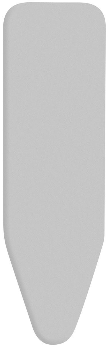 Чехол для гладильной доски Brabantia, 124 х 45 см12030014Чехол для гладильной доски Brabantia подарит Вашей доске новую жизнь и создаст идеальную поверхность для глажения и отпаривания белья. Чехол разработан специально для гладильных досок Brabantia и подходит для большинства утюгов и паровых систем. Изготовлен из металлизированного хлопка и отражает тепло для быстрого глажения. Подкладка из поролона толщиной 2 мм. Благодаря системе фиксации (эластичный шнурок с ключом для натяжения и резинка с крючками по центру) чехол легко крепится к гладильной доске, а поверхность всегда остается гладкой и натянутой. С помощью цветной маркировки на чехле и гладильной доске Вы легко подберете чехол подходящего размера.Всегда используйте этот чехол в сочетании со слоем вискозы и/или слоем поролона. Характеристики: Материал: метализированный хлопок, поролон. Размер чехла: 124 см х 45 см. Артикул: 136702. Гарантия производителя: 5 лет.