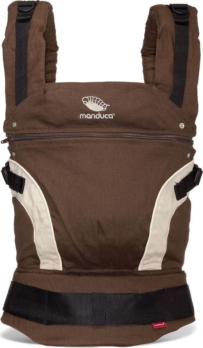 Manduca Слинг-рюкзак First Brown цвет коричневый, Wickelkinder GmBH