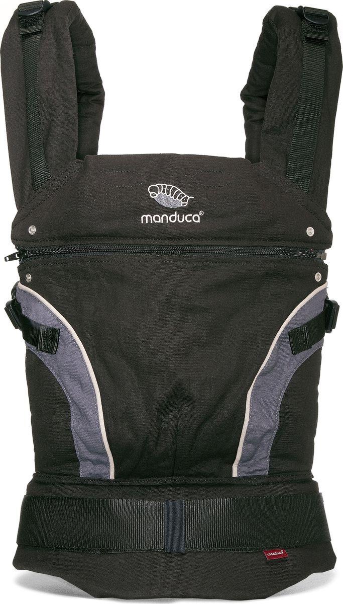 Manduca Слинг-рюкзак First Black цвет черный - Рюкзаки, слинги, кенгуру