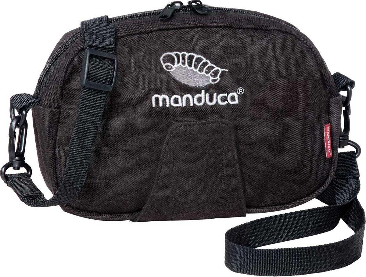 """Сумка для мамы Manduca """"Pouch"""" - удобный и стильный аксессуар. Маленькая, но очень вместительная сумочка для мелочей. Ключи, портмоне, носовые платочки, маленькая игрушка для малыша и другие полезные мелочи всегда будут под рукой. Сумочку можно удобно закрепить на поясном ремне или же носить на плече."""