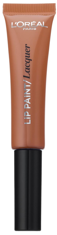 LOreal Paris Краска для губ Infaillible Lip Paint, жидкая помада, глянцевая, Оттенок 101, Идеальный нюд, 8 мл28032022Яркие пигменты помад дарят насыщенный цвет, а плотная текстура легко ложится на губы и не стирается. Профессиональный аппликатор позволяет легко и точно нанести продукт на губы.