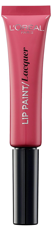 LOreal Paris Краска для губ Infaillible Lip Paint, жидкая помада, глянцевая, Оттенок 102, Леди в розовом, 8 мл2101-WX-01Яркие пигменты помад дарят насыщенный цвет, а плотная текстура легко ложится на губы и не стирается. Профессиональный аппликатор позволяет легко и точно нанести продукт на губы.
