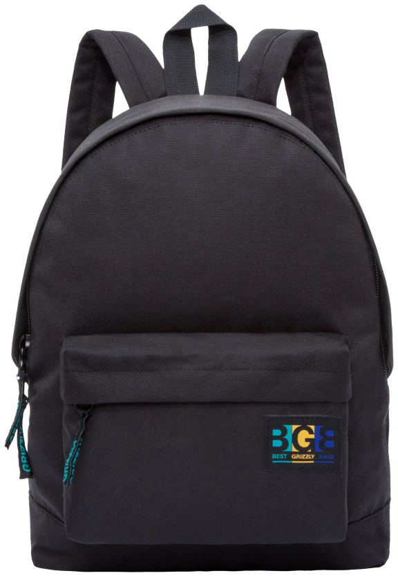 Рюкзак городской женский Grizzly, цвет: черный. RD-750-4/5RD-750-4/5Рюкзак городской Grizzl выполнен из высококачественного нейлона в сочетании с полиэстероми оформлен оригинальной нашивкой. Рюкзак имеет ручку-петлю для подвешивания и две удобные лямки, длина которых регулируется с помощью пряжек. Модель имеет одно основное отделение на молнии, с внутренним подвесным карманом. Передняя сторона оформлена объемным карманом на застежке-молнии. Тыльная сторона рюкзака имеет укрепленную спинку.