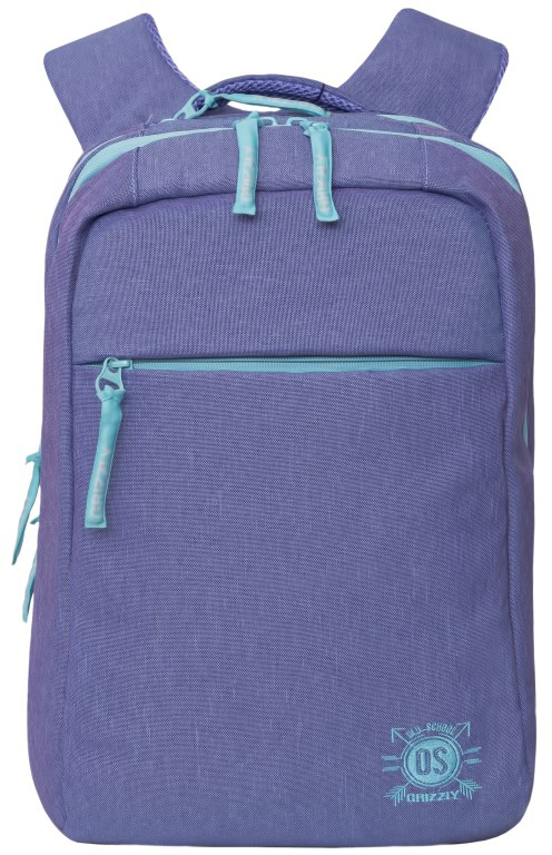 Рюкзак городской женский Grizzly, цвет: сиреневый. RD-754-3/2ГризлиРюкзак городской Grizzl выполнен из сочетания высококачественного нейлона и полиэстера. Рюкзак имеет укрепленную петлю для подвешивания и две удобные лямки, длина которых регулируется с помощью пряжек. На лицевой стороне расположено два основных отделения, в них содержатся карман на молнии, внутренний карман-пенал для карандашей и внутренний укрепленный карман для ноутбука.Также в верхней части рюкзака находится карман быстрого доступа на молнии.Изделие имеет нагрудную стяжку-фиксатор и ортопедическую спинку.