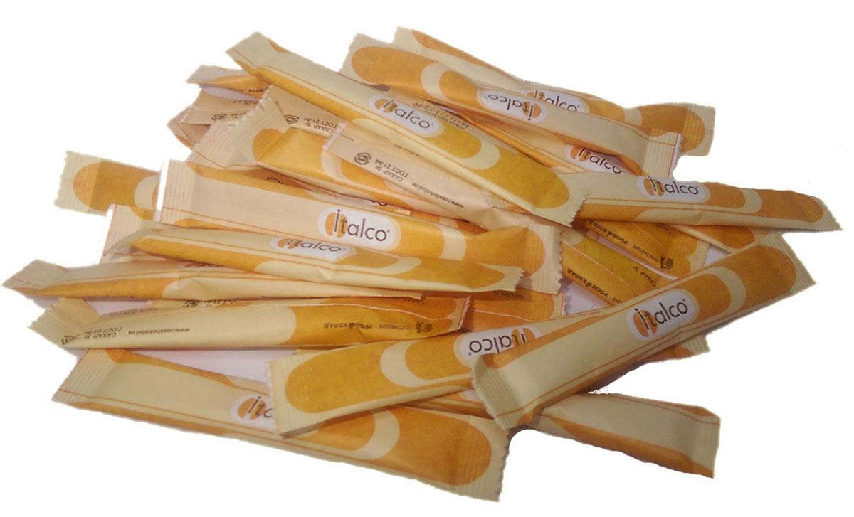 Italco cахар порционный в стиках, 2000 шт по 5 г14623720876876Стандартный вариант - сахар пакетированный. Это оптимальный вариант для тех заведений общественного питания, которые специализируются на горячих напитках – кофеен и чайных.