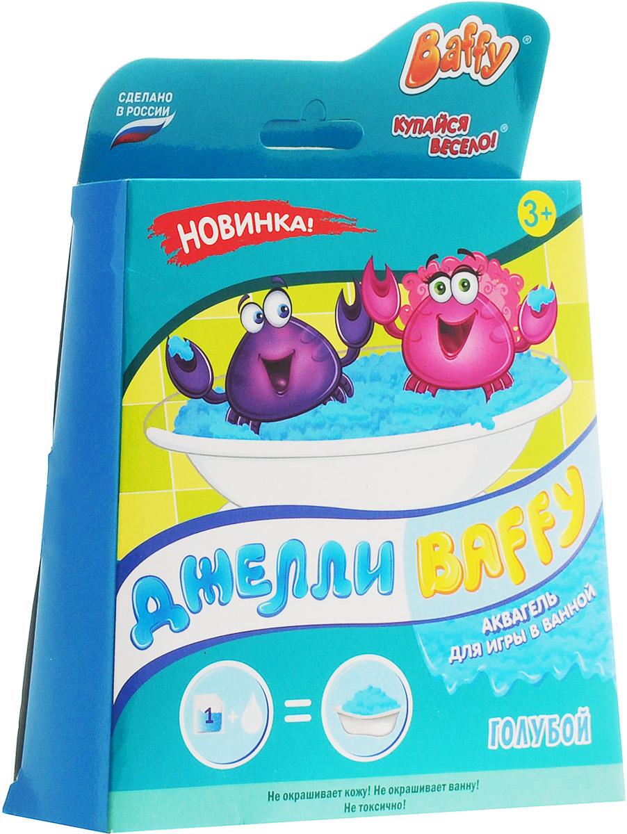 Baffy Набор средств для купания Джелли цвет голубой72523WDНабор средств для купания Baffy Джелли сделает пребывание в ванне очень веселым.Купание превратится в интересную увлекательную игру с помощью аквагеля. Наблюдайте за волшебством: вода легко превращается в желе и обратно!Развивайте мелкую моторику у ребенка даже во время принятия ванны!
