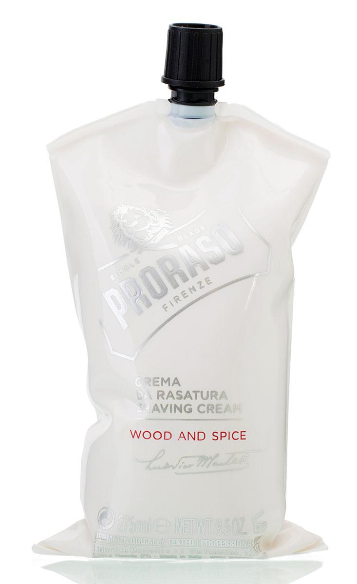 Proraso Крем для бритья Wood and Spice 275 мл - Мужские средства для бритья и уход за бородой