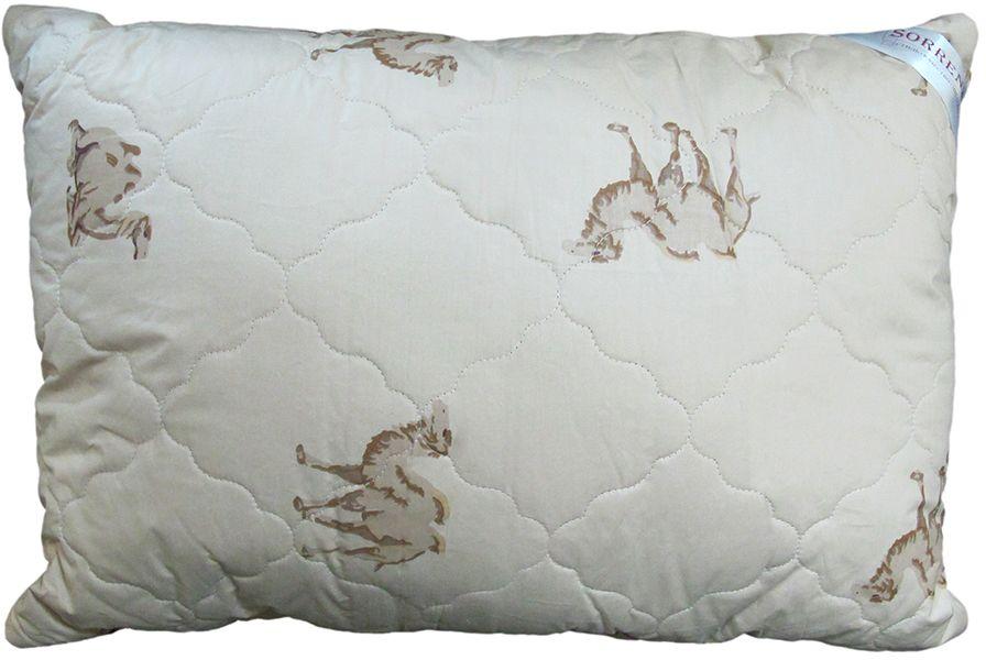Подушка Сорренто Верблюд, цвет: бежевый, 50 х 70 смARLНв/125/14Подушка Сорренто Верблюд - мягкая и легкая подушка обеспечит вам здоровый и комфортный сон. Она отлично впитывают влагу, также без труда ее испаряет, а это значит, что в ней никогда не заведутся микробы и вредные бактерии. Подушка обеспечивает надежную поддержку шеи и головы. Кроме того, она постоянно поддерживает нужную температуру и дарит вам незабываемое чувство комфорта и умиротворения.УВАЖАЕМЫЕ КЛИЕНТЫ!Обращаем ваше внимание на возможные изменения в дизайне товара - расцветка и рисунок могут отличаться от изображения, представленного на сайте. Поставка осуществляется в зависимости от наличия на складе.