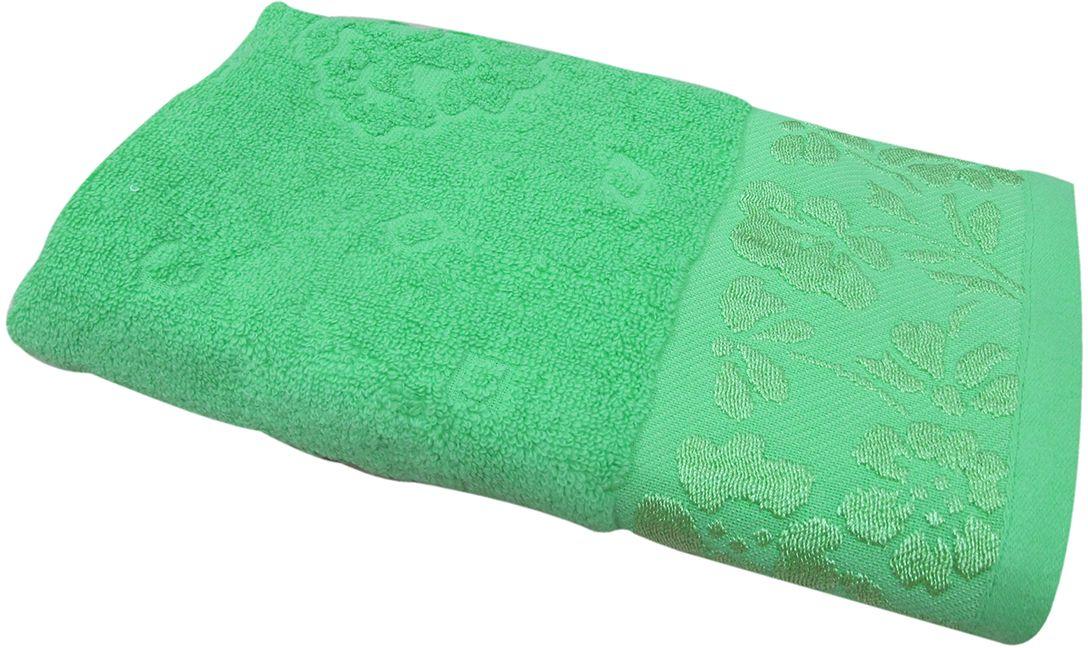 Полотенце махровое Bravo Ромашка, цвет: зеленый, 70 х 130 см55742Полотенце Ромашка выполнено из натуральной махровой ткани (100% хлопок). Изделие отлично впитывает влагу, быстро сохнет, сохраняет яркость цвета и не теряет форму даже после многократных стирок. Полотенце очень практично и неприхотливо в уходе. Оно создаст прекрасное настроение и украсит интерьер в ванной комнате.