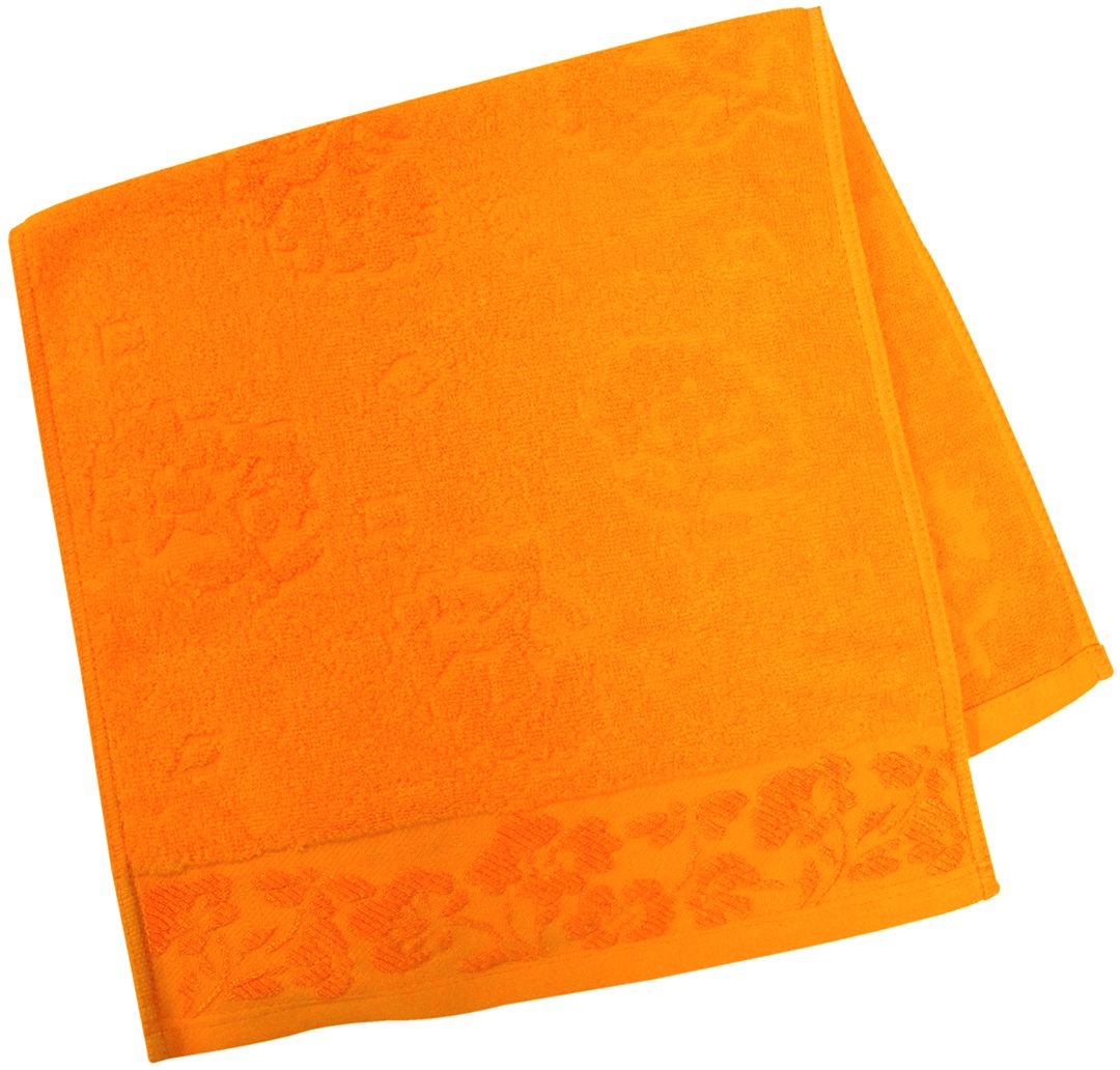 Полотенце махровое НВ Ромашка, цвет: оранжевый, 33 х 70 см. м0177_1580817Полотенце НВ Ромашка выполнено из натуральной махровой ткани (100% хлопок). Изделие отлично впитывает влагу, быстро сохнет, сохраняет яркость цвета и не теряет форму даже после многократных стирок. Полотенце очень практично и неприхотливо в уходе. Оно станет достойным выбором для вас и приятным подарком вашим близким.