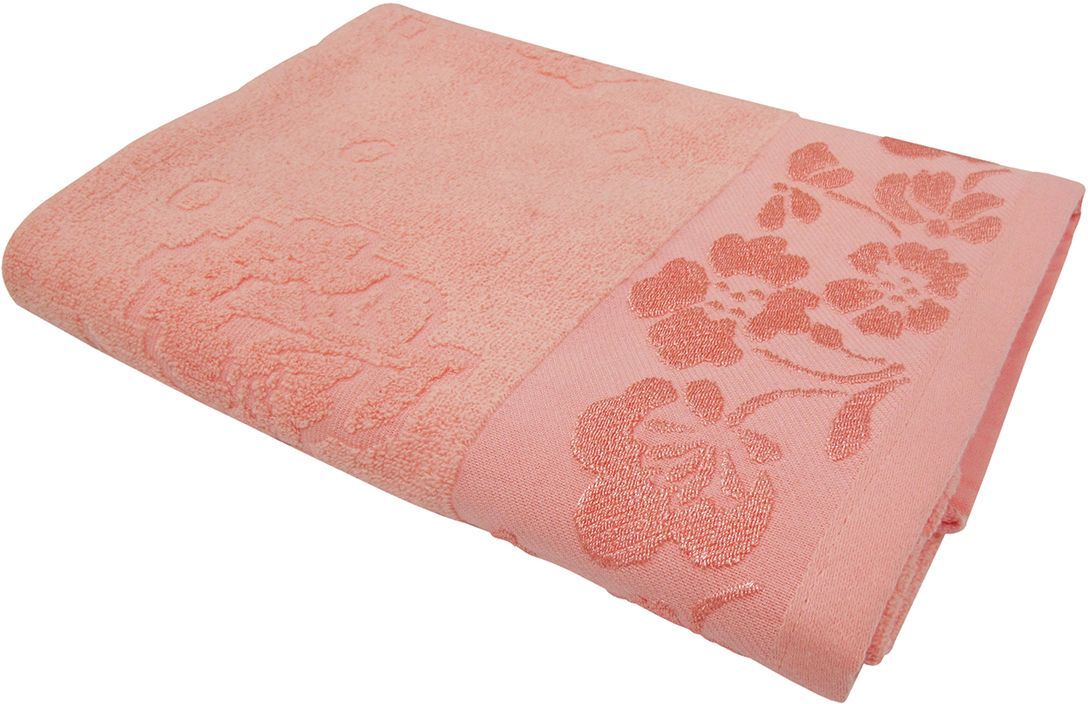 Полотенце махровое Bravo Ромашка, цвет: розовый, 50 х 90 см80820Полотенце Ромашка выполнено из натуральной махровой ткани (100% хлопок). Изделие отлично впитывает влагу, быстро сохнет, сохраняет яркость цвета и не теряет форму даже после многократных стирок. Полотенце очень практично и неприхотливо в уходе. Оно создаст прекрасное настроение и украсит интерьер в ванной комнате.